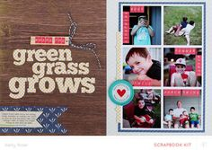 Where The Green Grass Grows * Main Kit Only* by Kelly Noel at @Studio_Calico