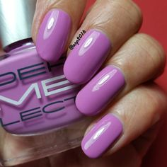 Dermelect 'ME' Outburst Collection - UNSCRIPTED, Energetic Violet, peptide-infused nail lacquer! Available at @ultabeauty
