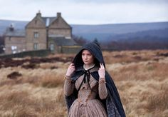 """""""Mia Wasikowska on the set of Jane Eyre. I really love this look! lol. And the photo is gorgeous"""""""