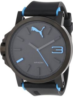 PUMA Men's PU102941002 Ultrasize Blue Analogue Watch
