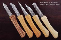 [和式ナイフ/切出・小刀]きっちゃん 細工小刀セット5本組