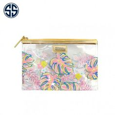 Simply Southern Clear Cosmo Bag | Greek Gallery