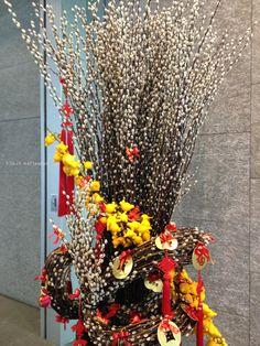 Beautiful CNY decorations, Kowloon Bay