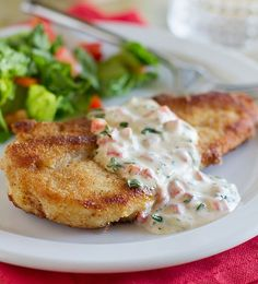 sweet P recipes: Chicken with Basil Cream Sauce