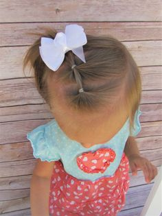 12 Must-Have Easy Toddler Hairstyles in Two Minutes or Less - Toddler hairstyles girl - Baby Hair Easy Toddler Hairstyles, Baby Girl Hairstyles, Princess Hairstyles, Prom Hairstyles, Trendy Hairstyles, Infant Hairstyles, Short Haircuts, Summer Haircuts, Teenage Hairstyles