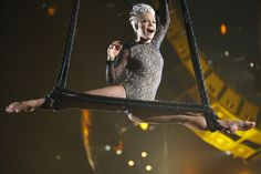 Pin for Later: The Most Gorgeous Pictures of Pink Flying Through the Air January 2014