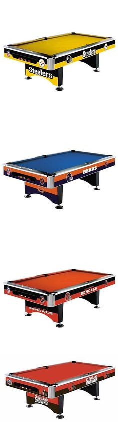 Tables 21213: Nfl 8 Foot Pittsburgh Steelers Pool Table Or Pick Your Team W  Free