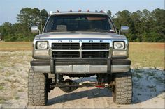 lifted Dodge Ram Truck