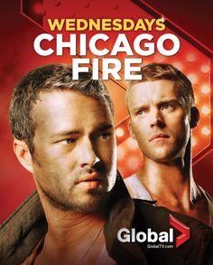 #ChicagoFire - Wednesdays beginning October 10 on Global
