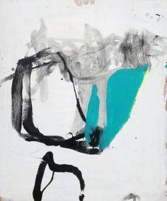 """Saatchi Art Artist Greg Holden Regan; Painting, """"Yellow Line on the Surface"""" #art"""
