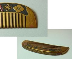 May: HiroshiHitoshi era family crest Makie comb
