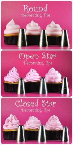Cupcakes: which frosting tip to use for different looks by mai
