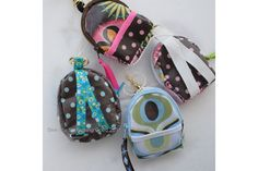 Mini Back Pack Coin Purse and Key Chain free pattern