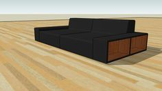 Large preview of 3D Model of Sofa