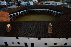 Plaza de Toros Hexagonal de Almadén y vistas, Gracias a Novedades Hebe
