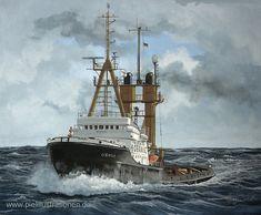 "Stefan-Piel-Oceanic03-g.jpg (709×585) Bugsier- und Bergungsschlepper ""Oceanic"", Stefan Piel."