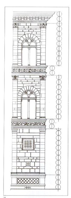 LEON BATTISTA ALBERTI Palacio Rucellai, Florencia, 1446-51,