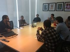 Reunión con la revista GQ México