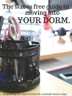 There is a lot to consider when it comes to moving into your dorm - I covered a ton of the most common concerns and offer a ton of advice for anyone living in the dorms!