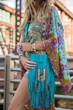 Hippie chic with a touch of bohemian festival style! Revival of the 70-s!