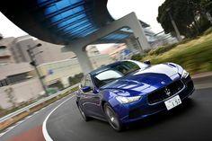 Maserati Ghibli.