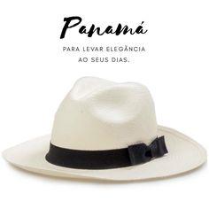 O Chapéu panamá é uma peça ímpar em seu guarda roupa. Fino e elegante é 19475f95cbf