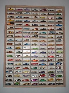 Hot Wheels Display playroom-ideas