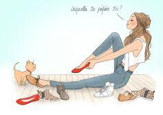 delphine soucail illustration chat.jpg - Delphine SOUCAIL | Virginie
