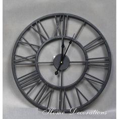 Industriální hodiny Clock, Wall, Design, Home Decor, Watch, Decoration Home, Room Decor, Clocks