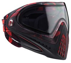 Dye i4 Paintball Mask / Goggle System NEW!! - Cubix Red