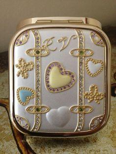 Mirror Steel Handbag Compact Mirror-Birthday Wedding Occasion Gift