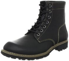 Skechers Men's Roven Boot Skechers. $89.95. leather. Fit: True to Size. Rubber sole. Upper: Smooth Oiled Leather