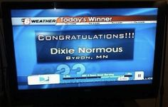 I love that either the news station fell for this or the small chance that this is someone's actual name.