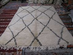 """on sale now!  {BOB-27A} NEW BENI OURAIN, 10'5"""" X 6'7"""""""