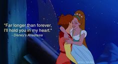 -lol- Best way to tick off Disney fans and non-Disney fans. Swan Princess quote, Thumbelina picture, says it's from Anastasia..-lol-