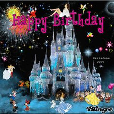 Happy Birthday - Disney style