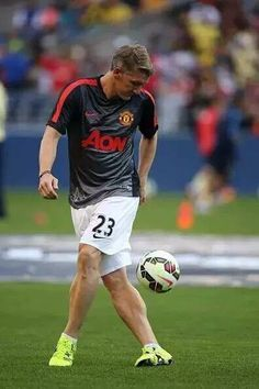 Schweini, just before heading to Chicago to cash in at the end of his brilliant career.