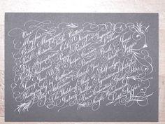 Absolutely insane calligraphy by Paul Antonio Scribe (http://paulantonioscribe.blogspot.com/)