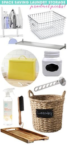 Fancy up your laundry room with these beautiful and useful organizing tools and accessories.