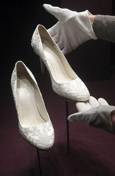 Alexander McQueen shoes for the wedding