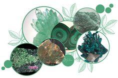 Peridot, Chart, Colours, Crystals, Malachite, Peridots, Crystal, Crystals Minerals