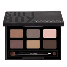 Smashbox 'Photo Op - Softbox' Eyeshadow Palette ($40) ❤ liked on Polyvore featuring beauty products, makeup, eye makeup, eyeshadow, beauty, eyes, smashbox eye shadow, smashbox, palette eyeshadow and matte palette eyeshadow