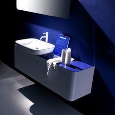 Karol bath vanities in NYC. Luxury bath by Karol Italy