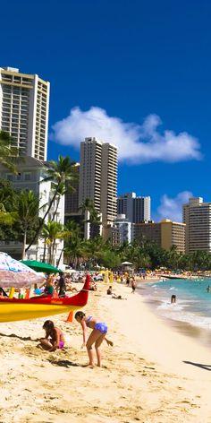 #WaikikiBeach in Oahu #Hawaii