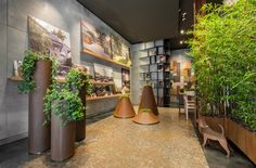 De Castelli flagship store #outdoor #indoor #iron #copper #aluminium #steel #corten