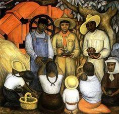 Diego Rivera - Triumph of the Revolution, 1926.