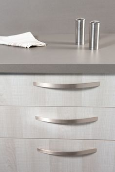 ARKO: Aluminum handle for kitchens by Viefe. Tirador de aluminio para cocinas, de Viefe.