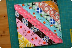 String Quilt Block Tutorial by Sometimes Crafter