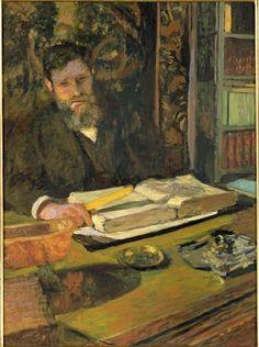 """Édouard Vuillard """"Un Lecteur"""""""