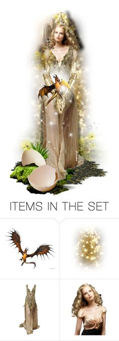 """Dragonfly Summer"" by ultracake ❤ liked on Polyvore featuring art, dolls, promo, dragons and ultracake"
